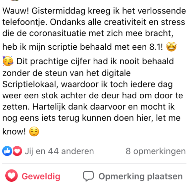 Review scriptie lokaal