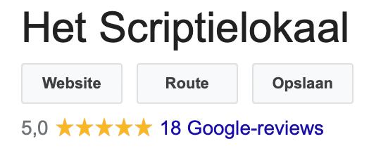 18 Reviews 5 sterren