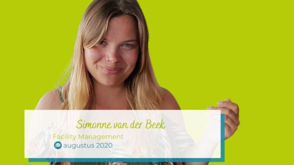 Afstuderen Simonne Review scriptielokaal